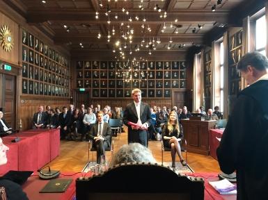 Dissertaion Senate Hall Utrecht University